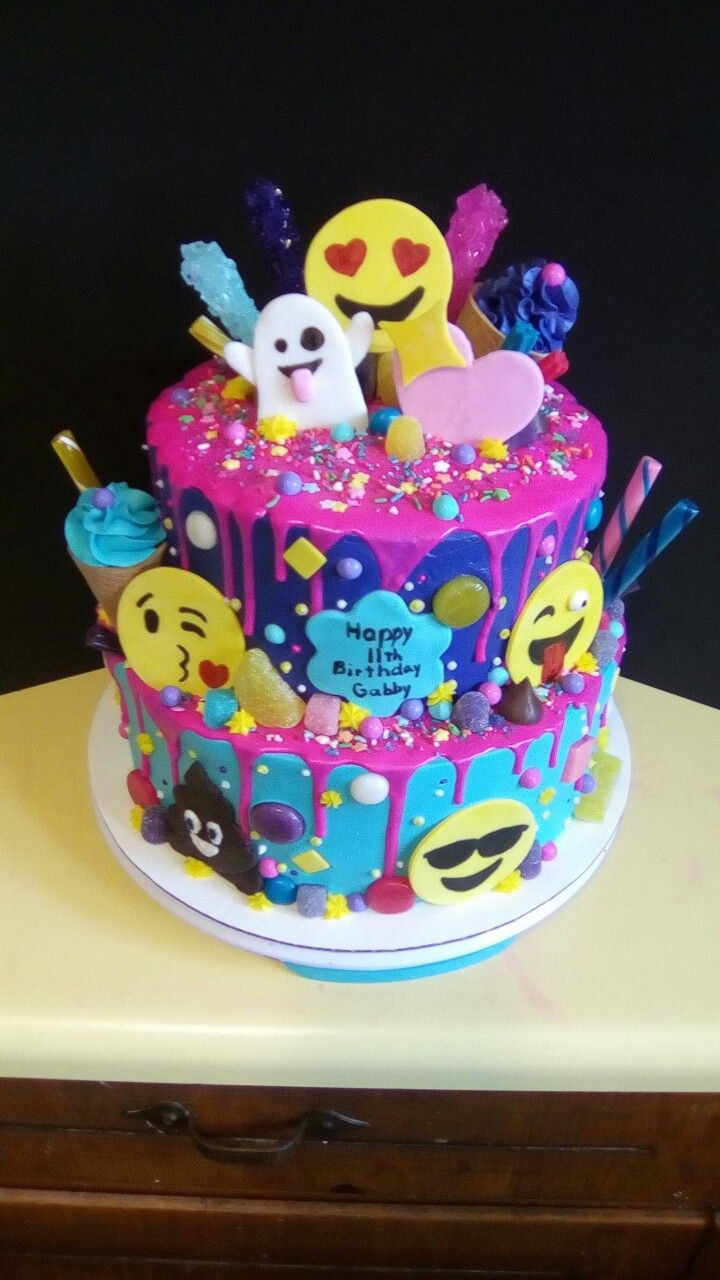 12Th Birthday Cake Emoji And Candy In 2019 Pinterest