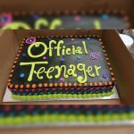 13 Birthday Cake Calumet Bakery Official Teenager Cake Milestone Birthday Cakes
