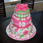 13 Birthday Cake Three Sweet Cakes 13th Birthday Cake