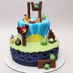 14Th Birthday Cake Angry Birds 14th Birthday Cake Cakecentral