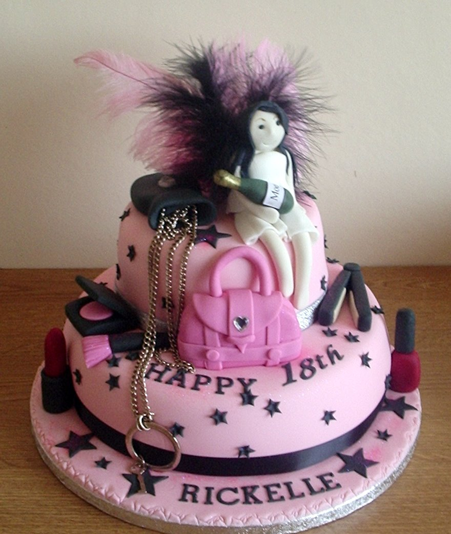 18Th Birthday Cake Designs 10 Polka Dot 18th Birthday Cakes For Girls Photo 18th Birthday