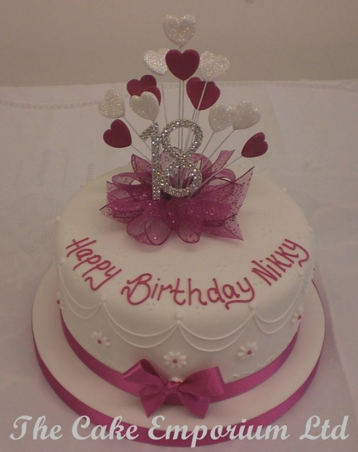 18Th Birthday Cake Designs 18th Birthday Cake Ideas Colorfulbirthdaycakesga