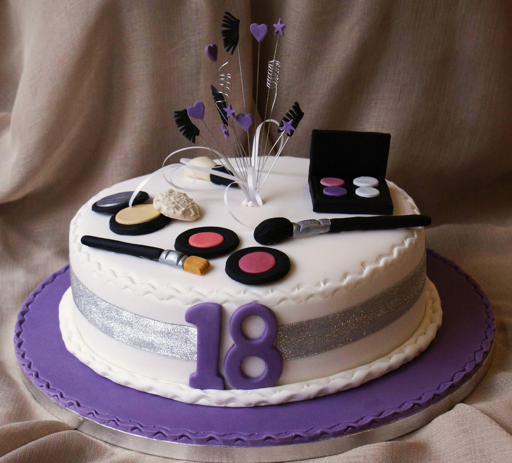 1536 In 34 Excellent Picture Of 18Th Birthday Cake Designs