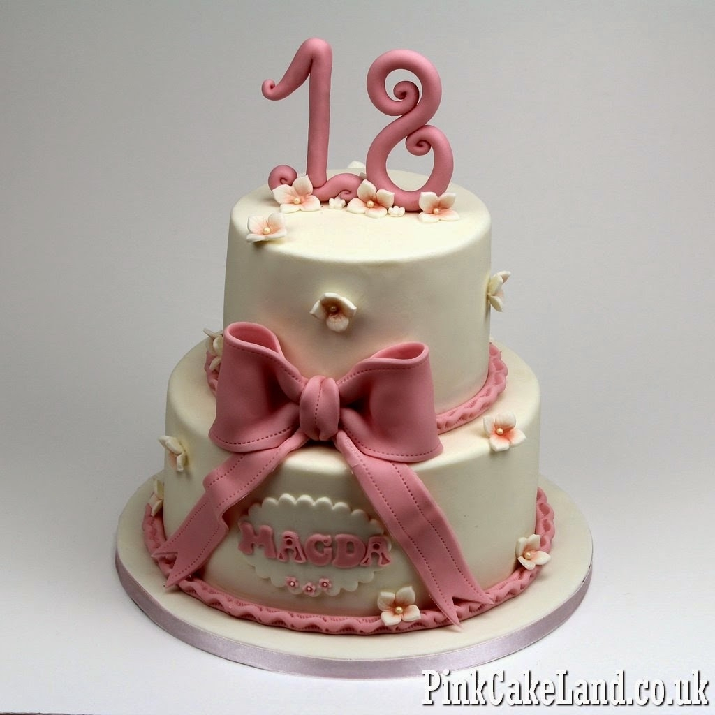 1024 X In 34 Excellent Picture Of 18Th Birthday Cake Designs