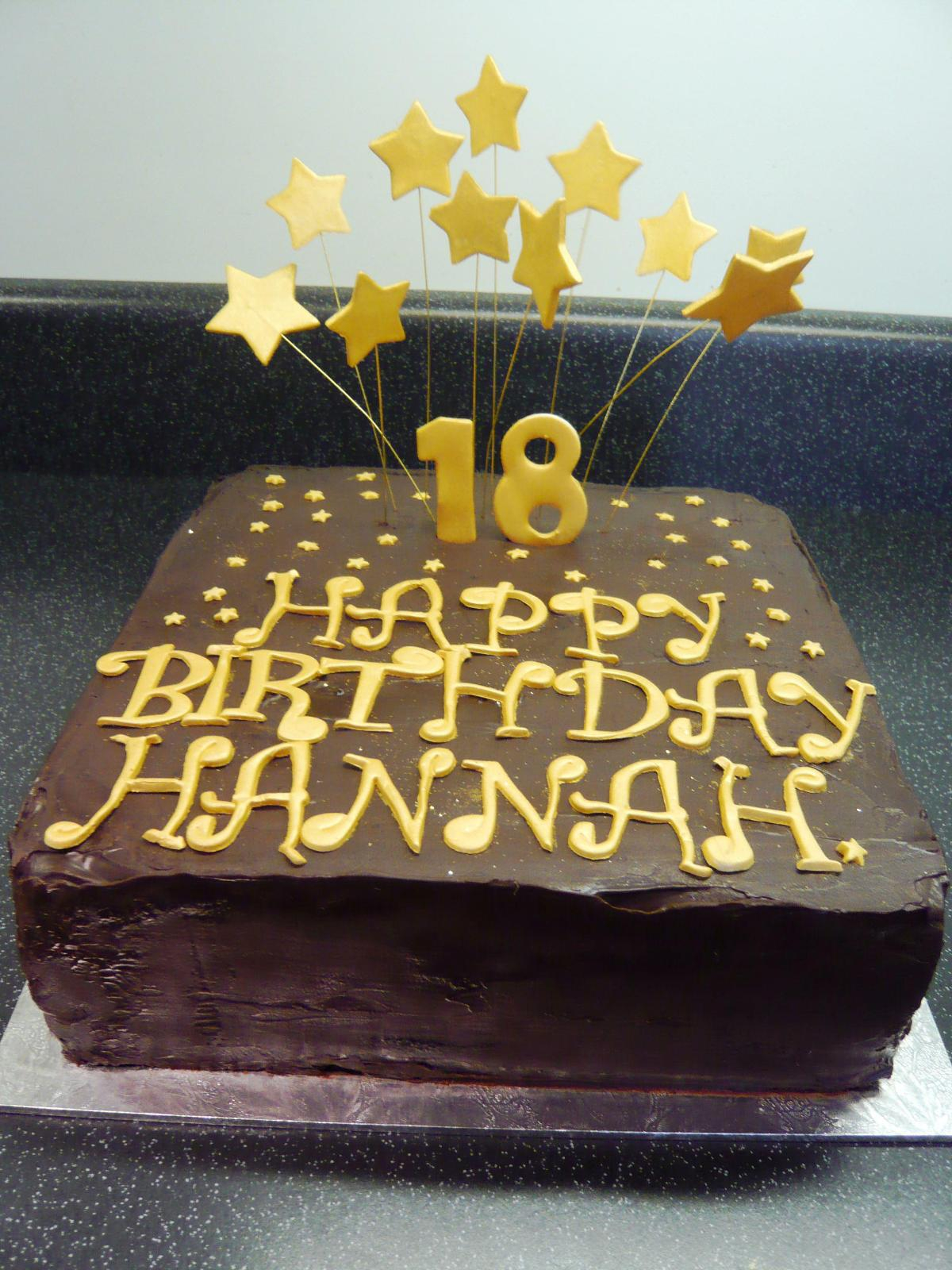 18Th Birthday Cake Designs Happy 18th Birthday Cake Protoblogr Design 18th Birthday Cakes