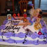 21St Birthday Cake Ideas For Her Drunk Barbie Cake 21st Birthday Cake Love I Think This Is What