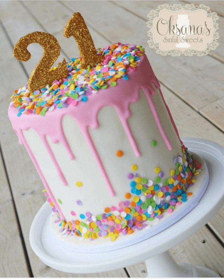 21St Birthday Cake Ideas For Her How To Make A Drip Cake 50 Amazing Drizzle Cakes To Inspire You
