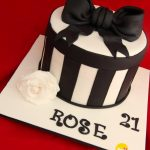 21St Birthday Cake Ideas For Her Roses 21st Birthday Cake Sunny Girl Cakes