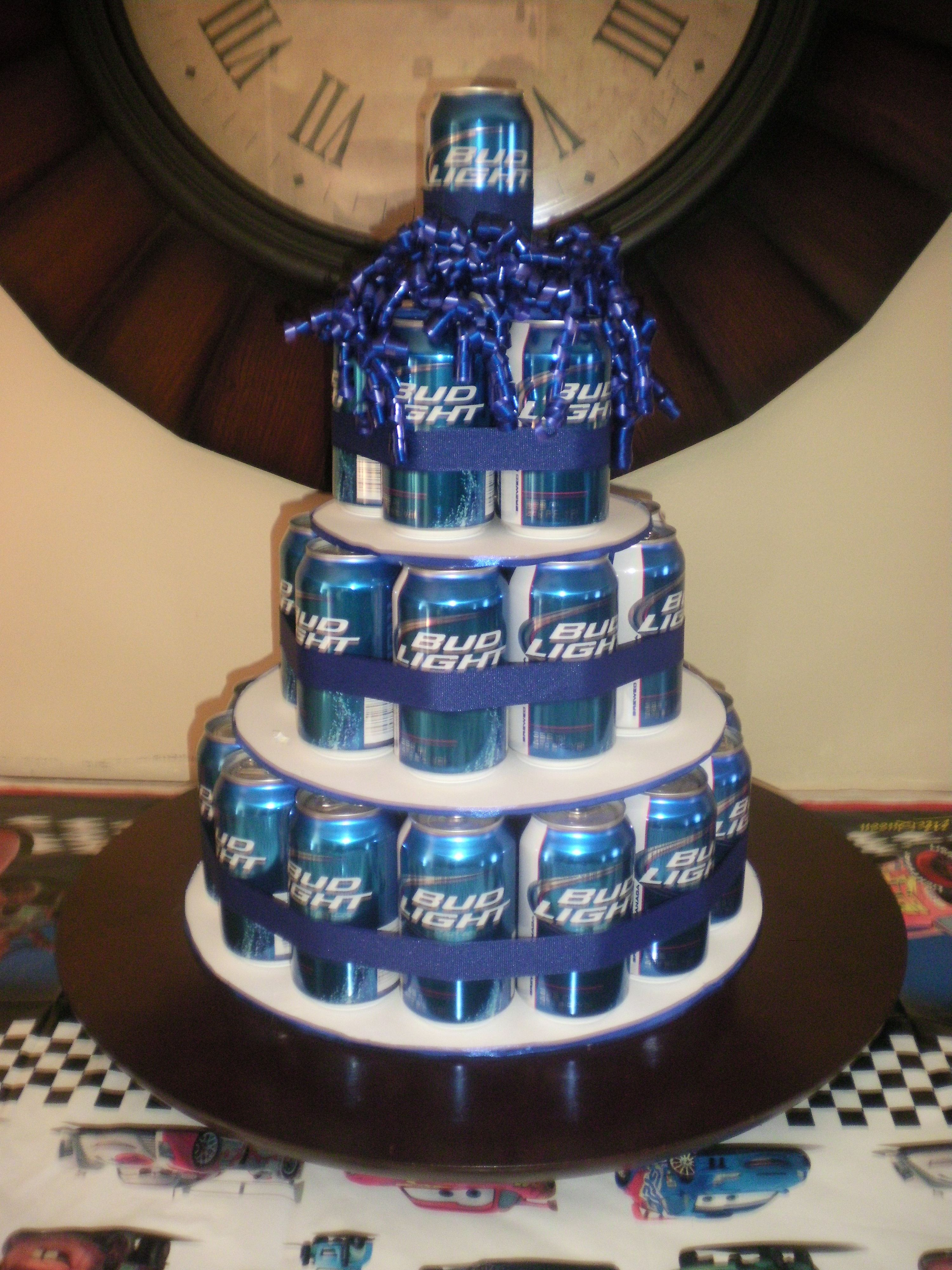 29Th Birthday Cake 29 Beers For My Sons 29th Birthday Neat Pinterest Birthday