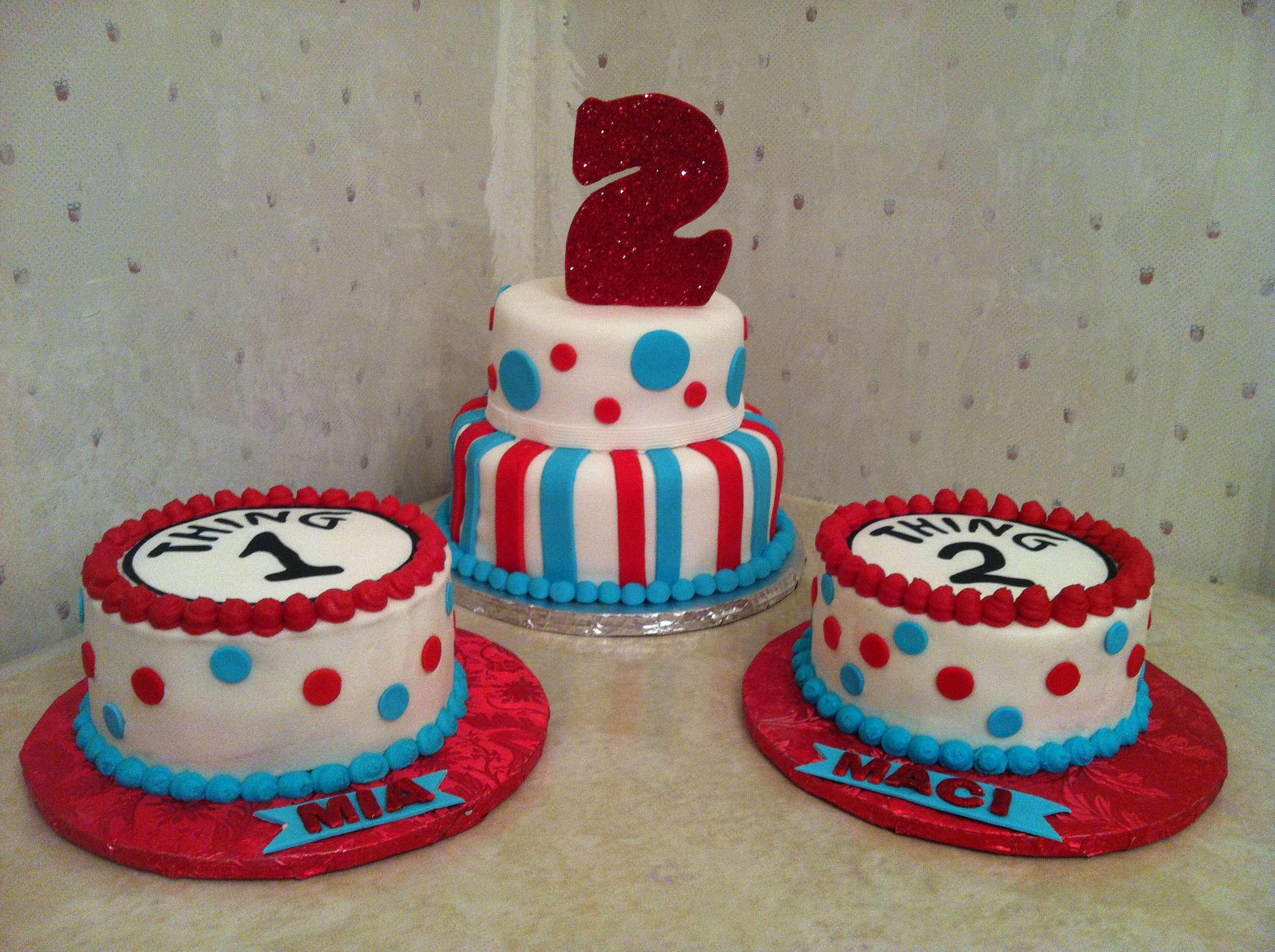 2592 X 1936 In 32 Inspiration Picture Of 2Nd Birthday Cake Ideas