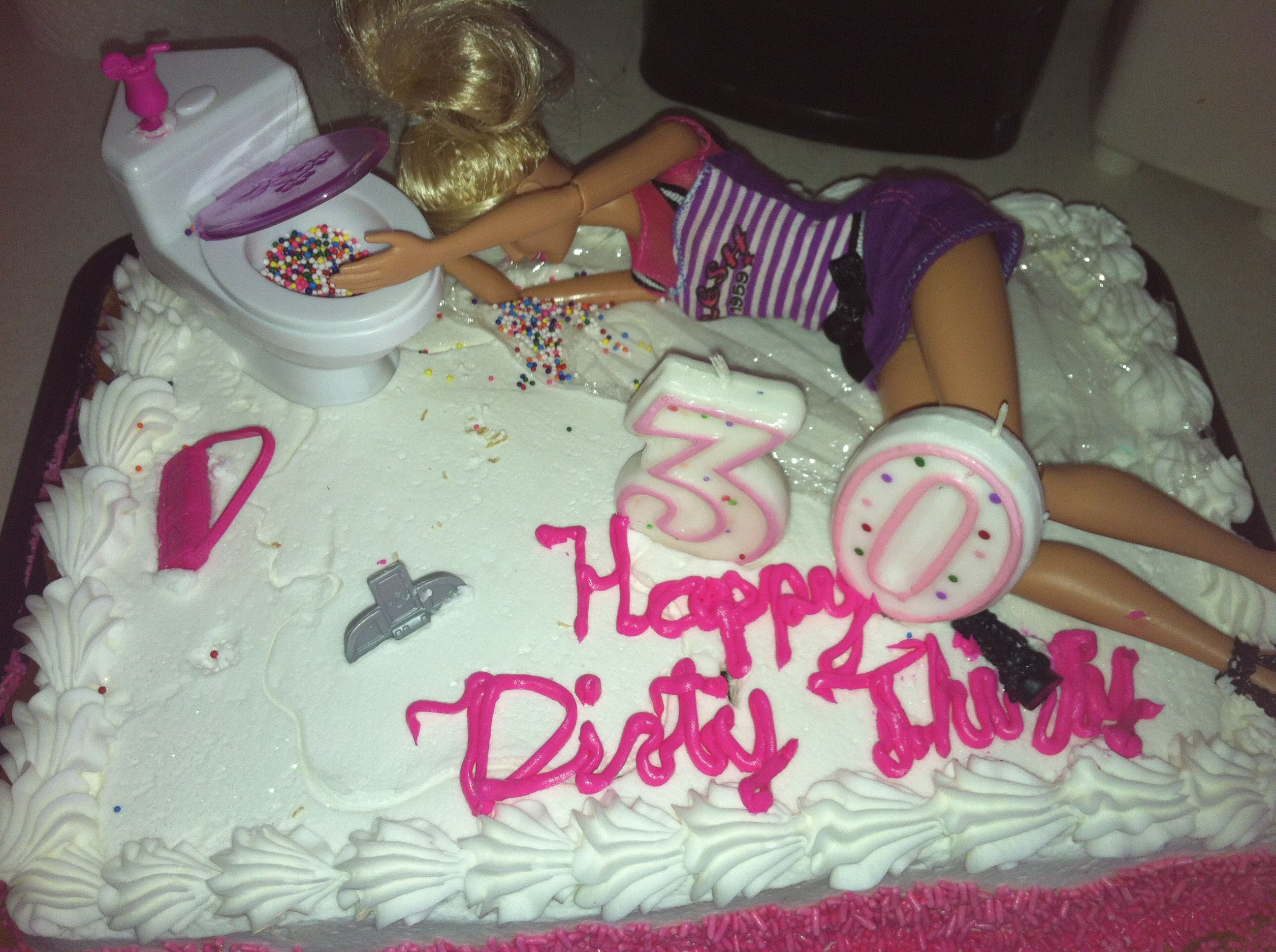 30Th Birthday Cake Ideas For Her 30th Birthday Cake Dirty 30 Fun Crafts Things To Make