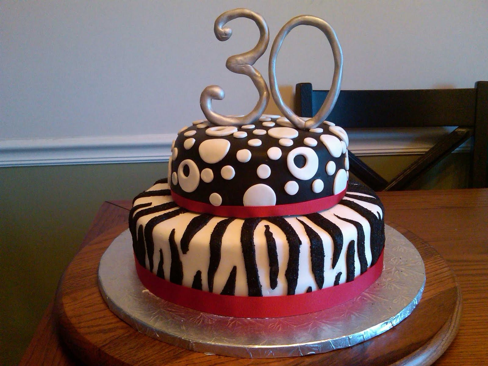 30Th Birthday Cake Ideas For Her 6 Turning 30 Cakes Photo 30th Idea