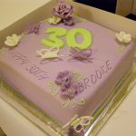 30Th Birthday Cake Ideas For Her Sweet Mummas Cupcakes Brookes 30th Birthday Cake