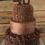 40Th Birthday Cake Ideas A Chocolate Chocolate 40th Birthday Cake Rose Bakes