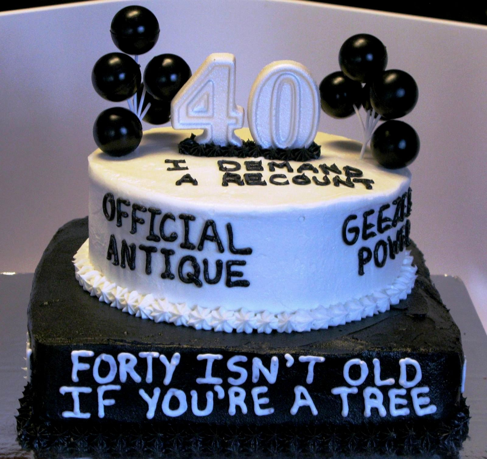 40Th Birthday Cake Ideas For Her 10 40th Cakes Him Photo