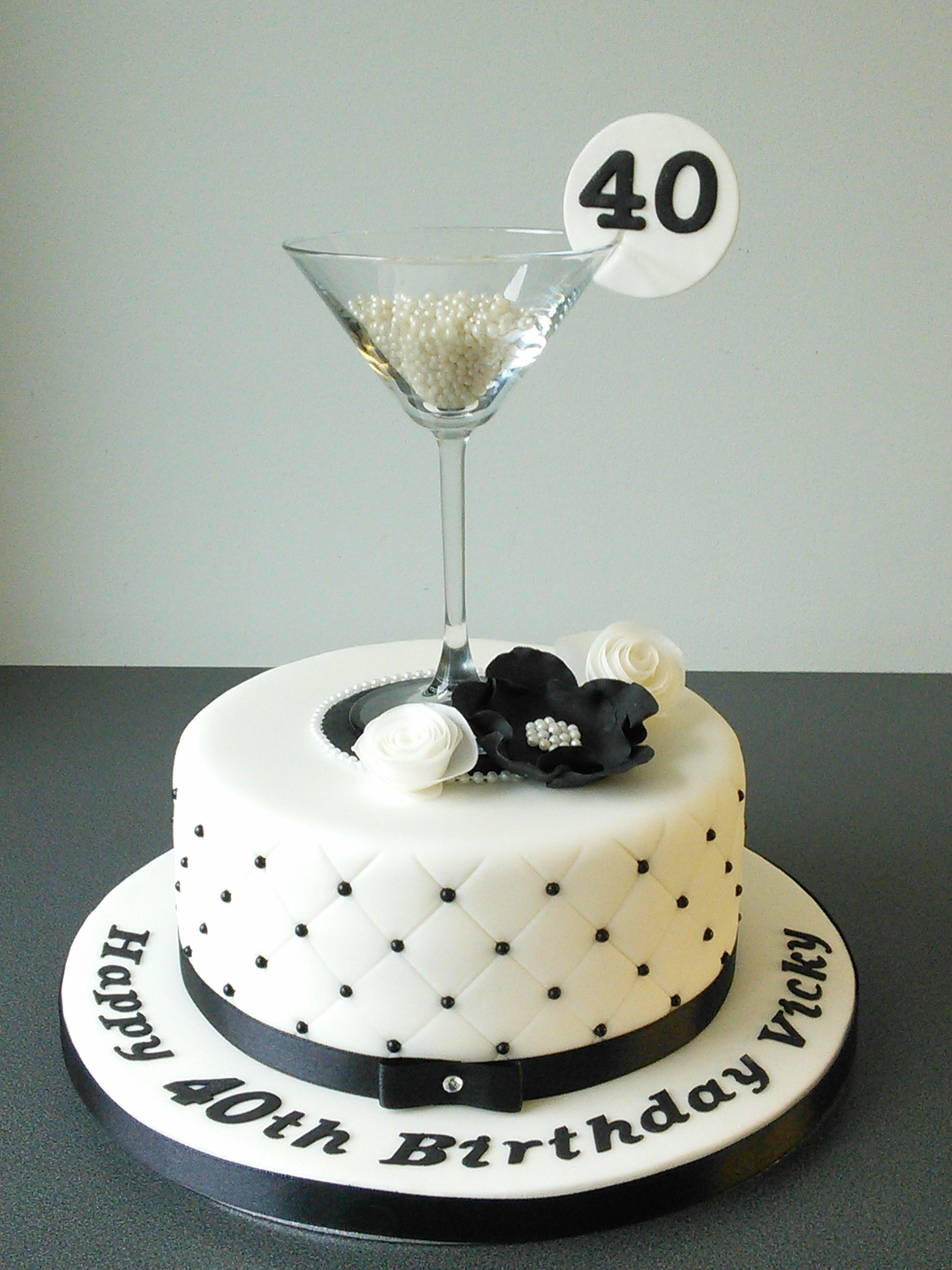 2592 In 35 Beautiful Picture Of 40Th Birthday Cake Ideas For Her