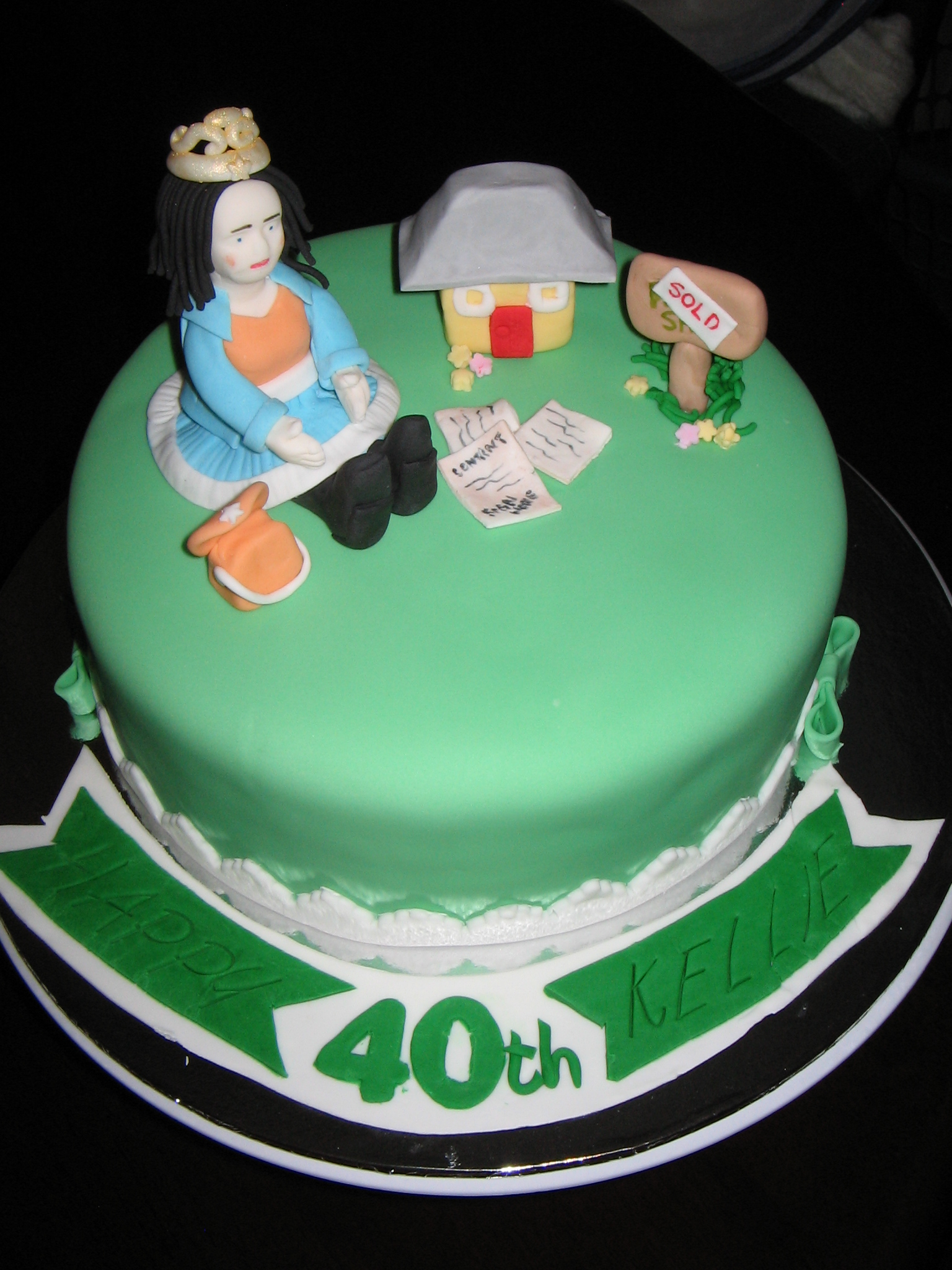 40Th Birthday Cake Ideas For Her 40th Zeppiedoescakes