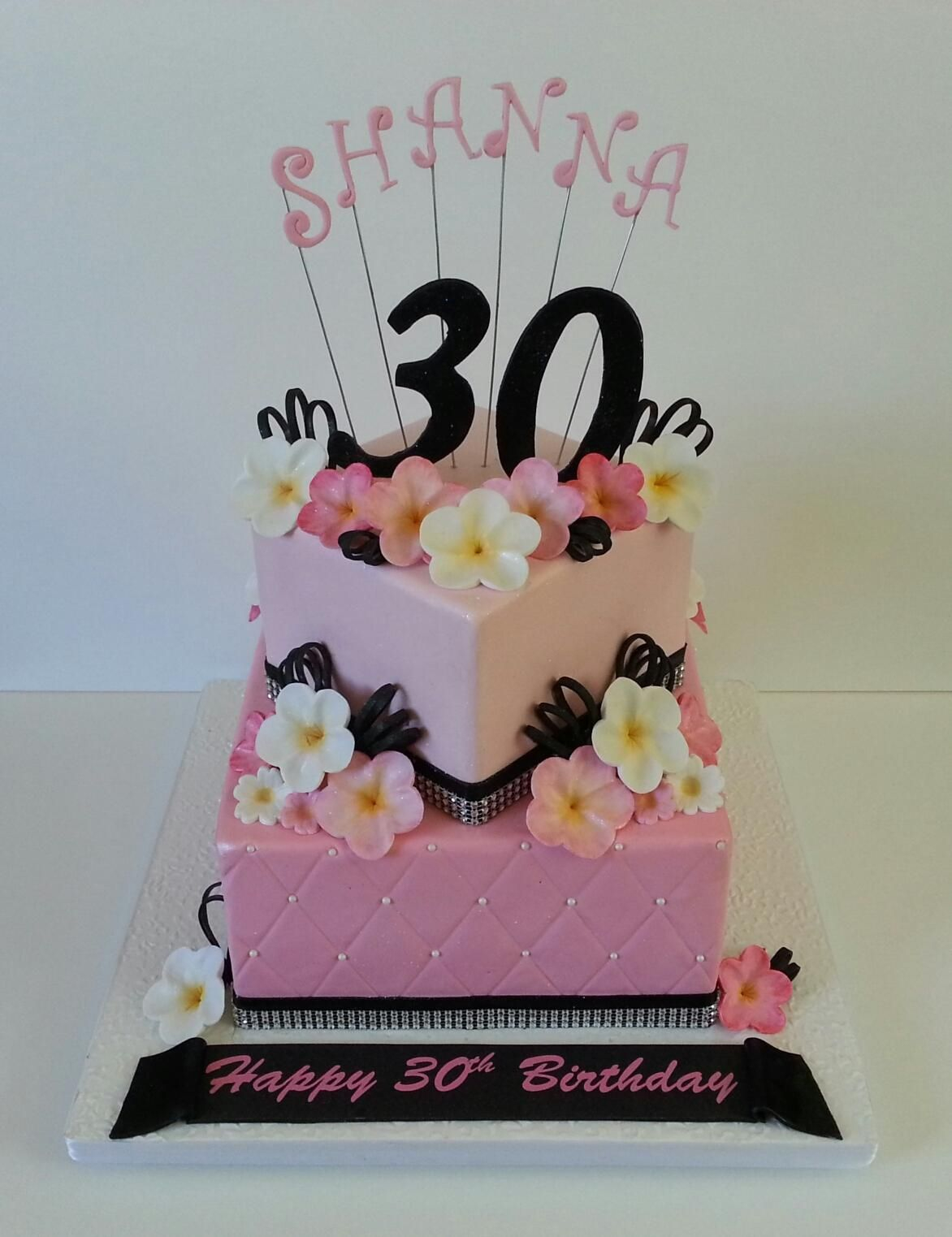 1172 X 1523 In 35 Beautiful Picture Of 40Th Birthday Cake Ideas For Her
