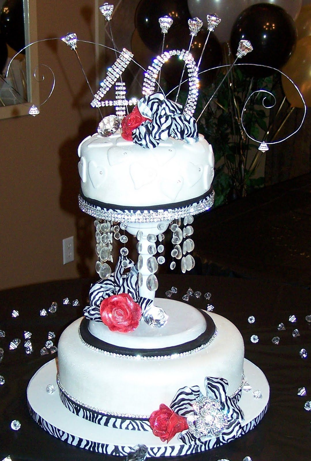 40Th Birthday Cake Ideas For Her 40th Protoblogr Design