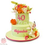 40Th Birthday Cake Ideas Whimsical 40th Birthday Cake