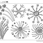 4th Of July Coloring Pages Made Joel 4th Of July Fireworks Coloring Sheet
