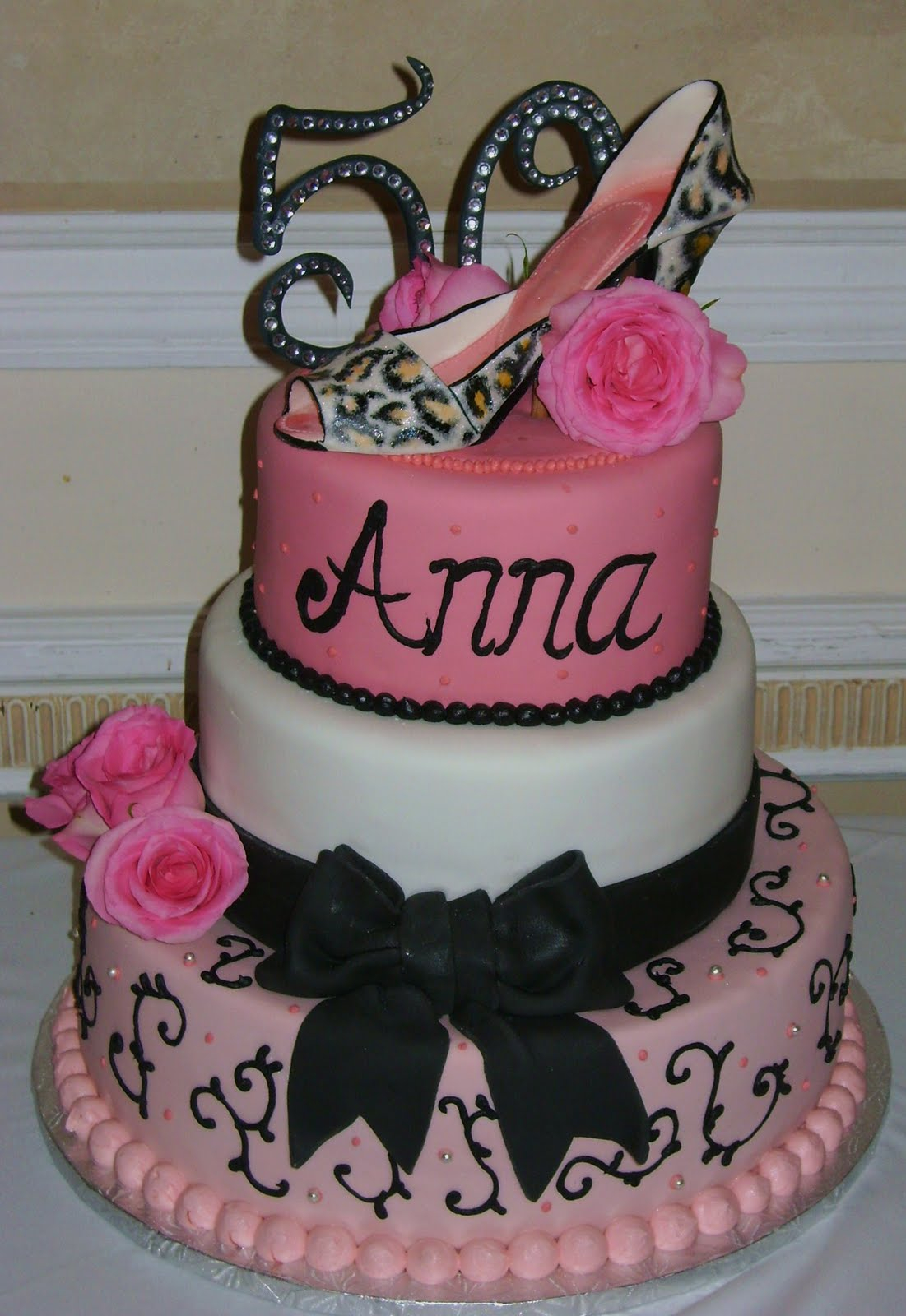 50Th Birthday Cake Ideas For Her 9 Women 50th Cakes Photo