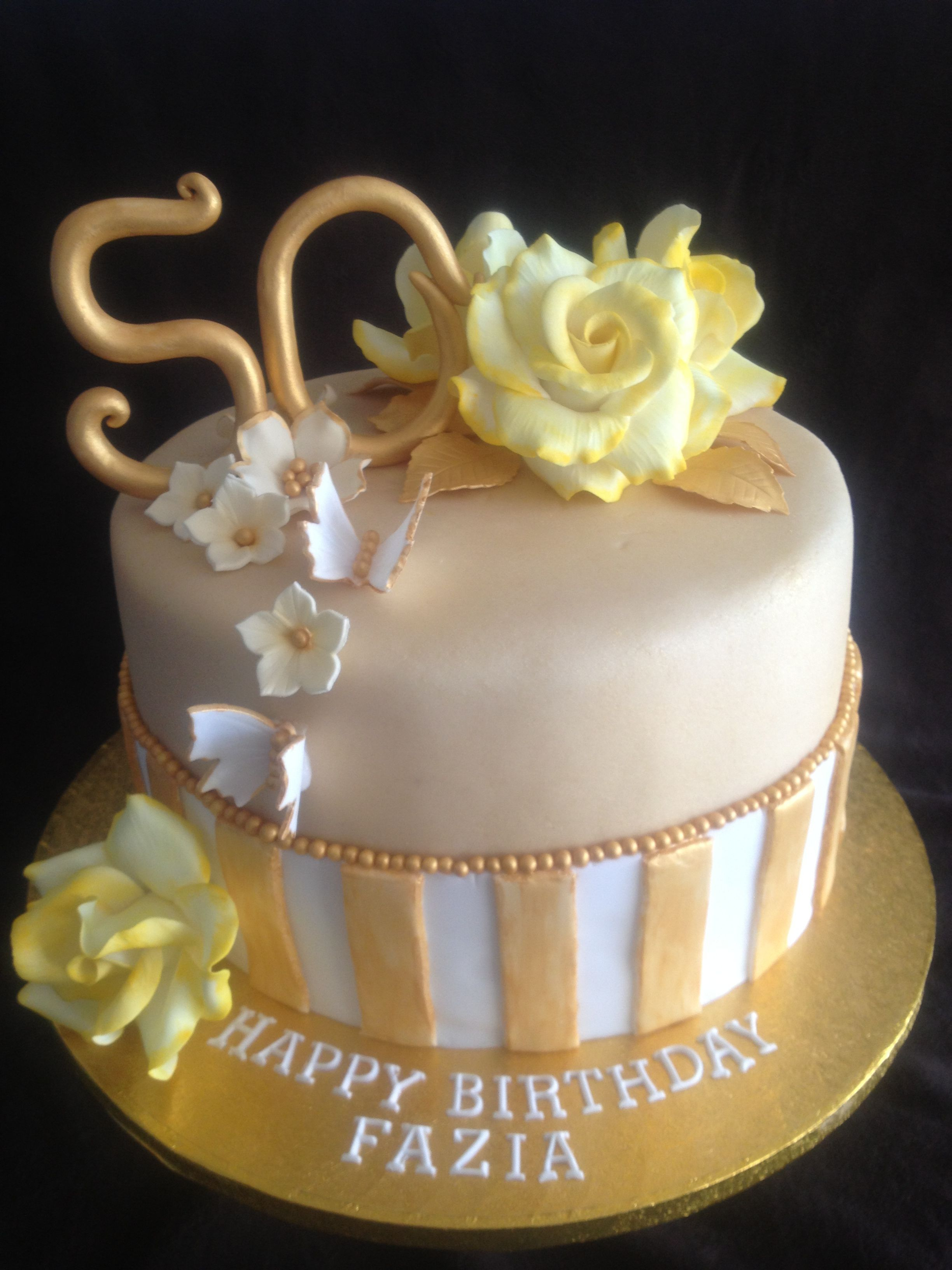 50Th Birthday Cake Ideas For Her Images Of 50th Women Party Decoration