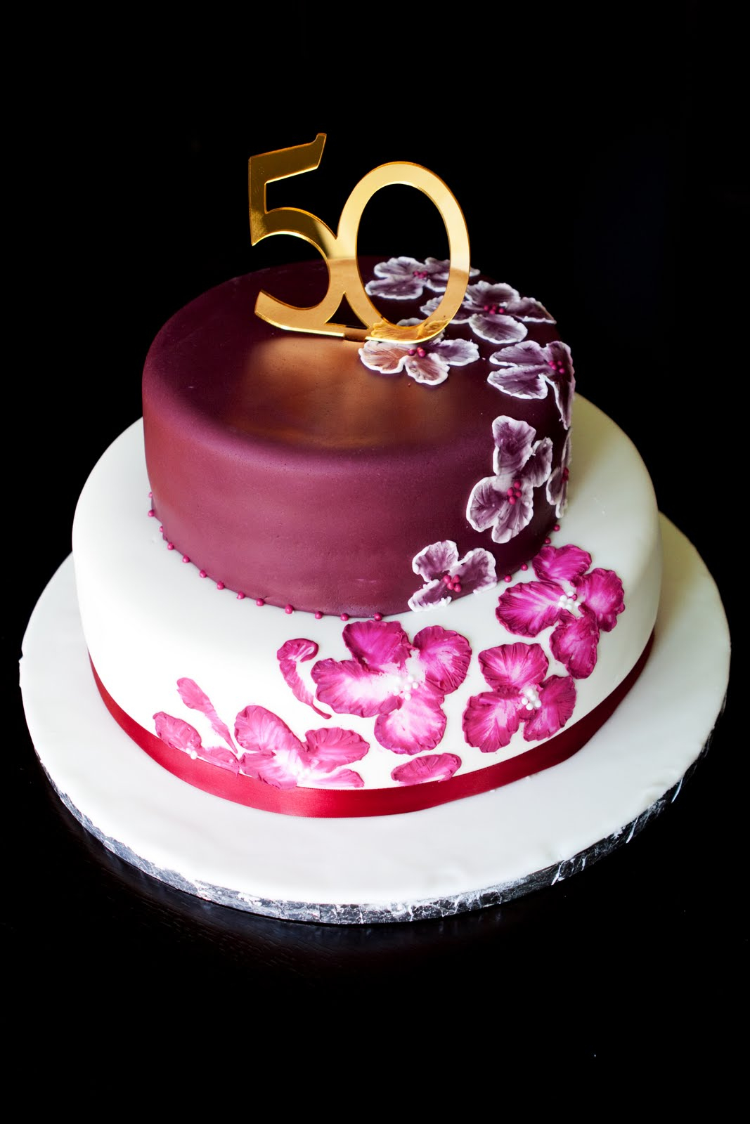 1067 X 1600 In 25 Elegant Image Of 50Th Birthday Cake