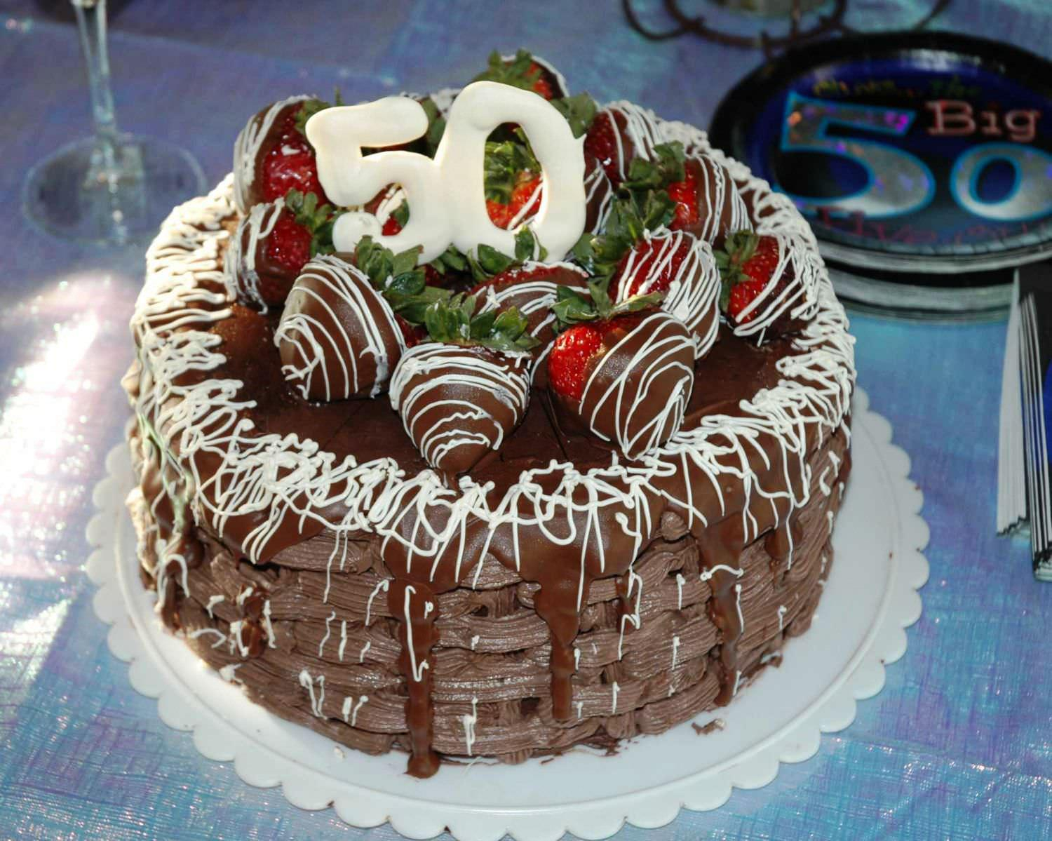 50Th Birthday Cake Ideas For Him 8 50th Chocolate Birthday Cakes For Men Photo 50th Birthday Cake