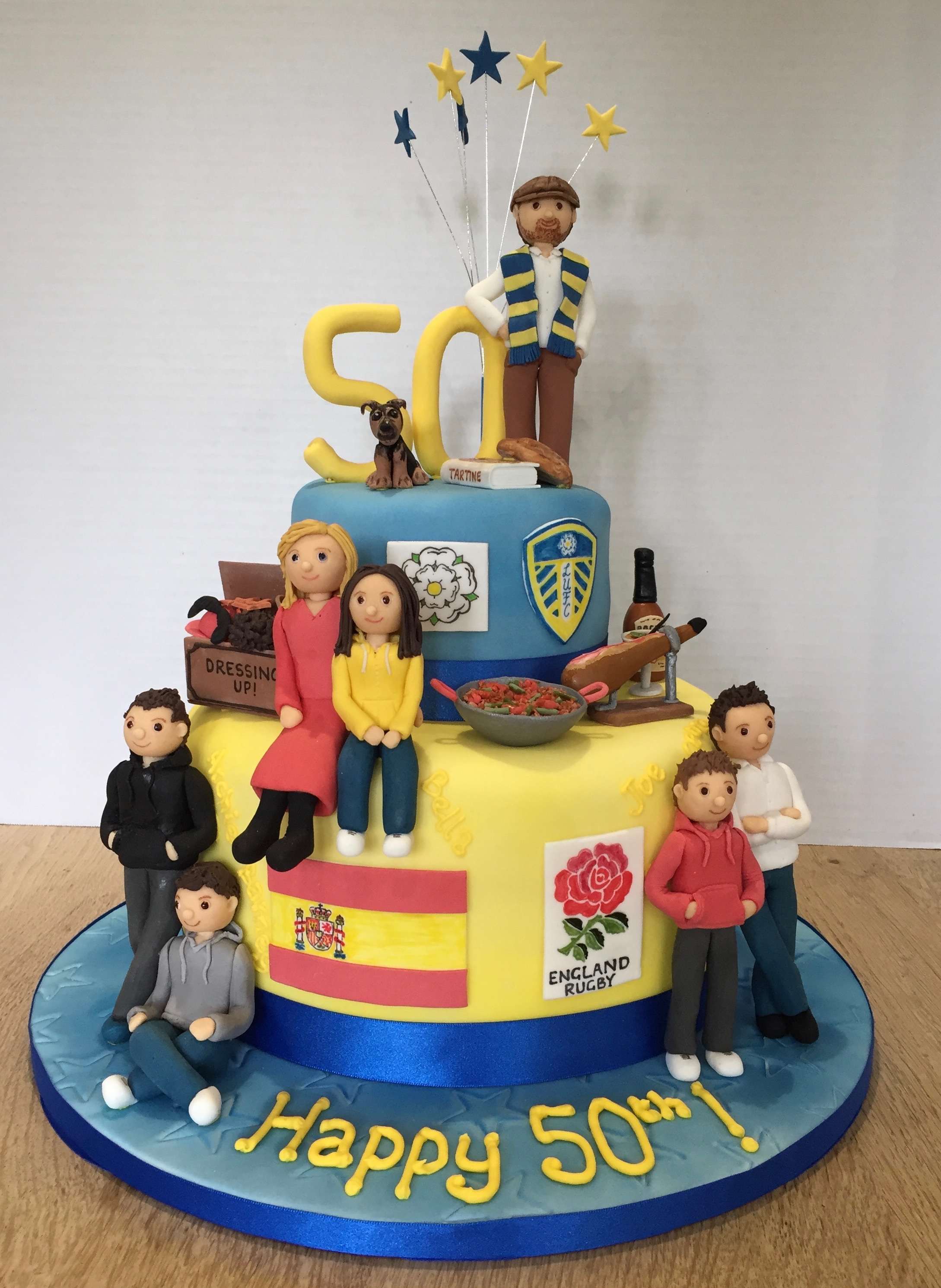 2981 In 30 Wonderful Picture Of 50Th Birthday Cakes