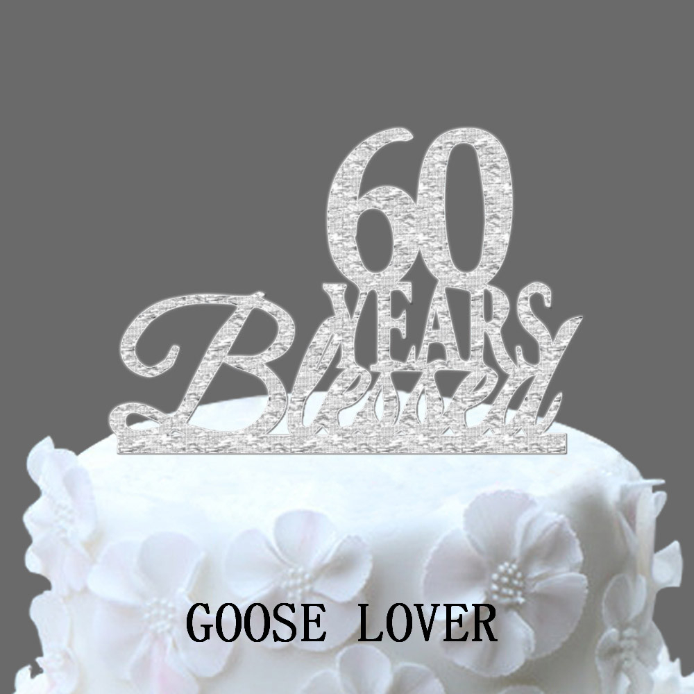 34+ Brilliant Photo of 60Th Birthday Cake Toppers