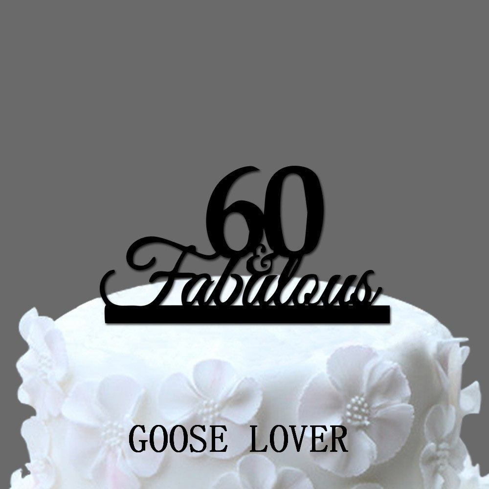 1000 In 34 Brilliant Photo Of 60Th Birthday Cake Toppers