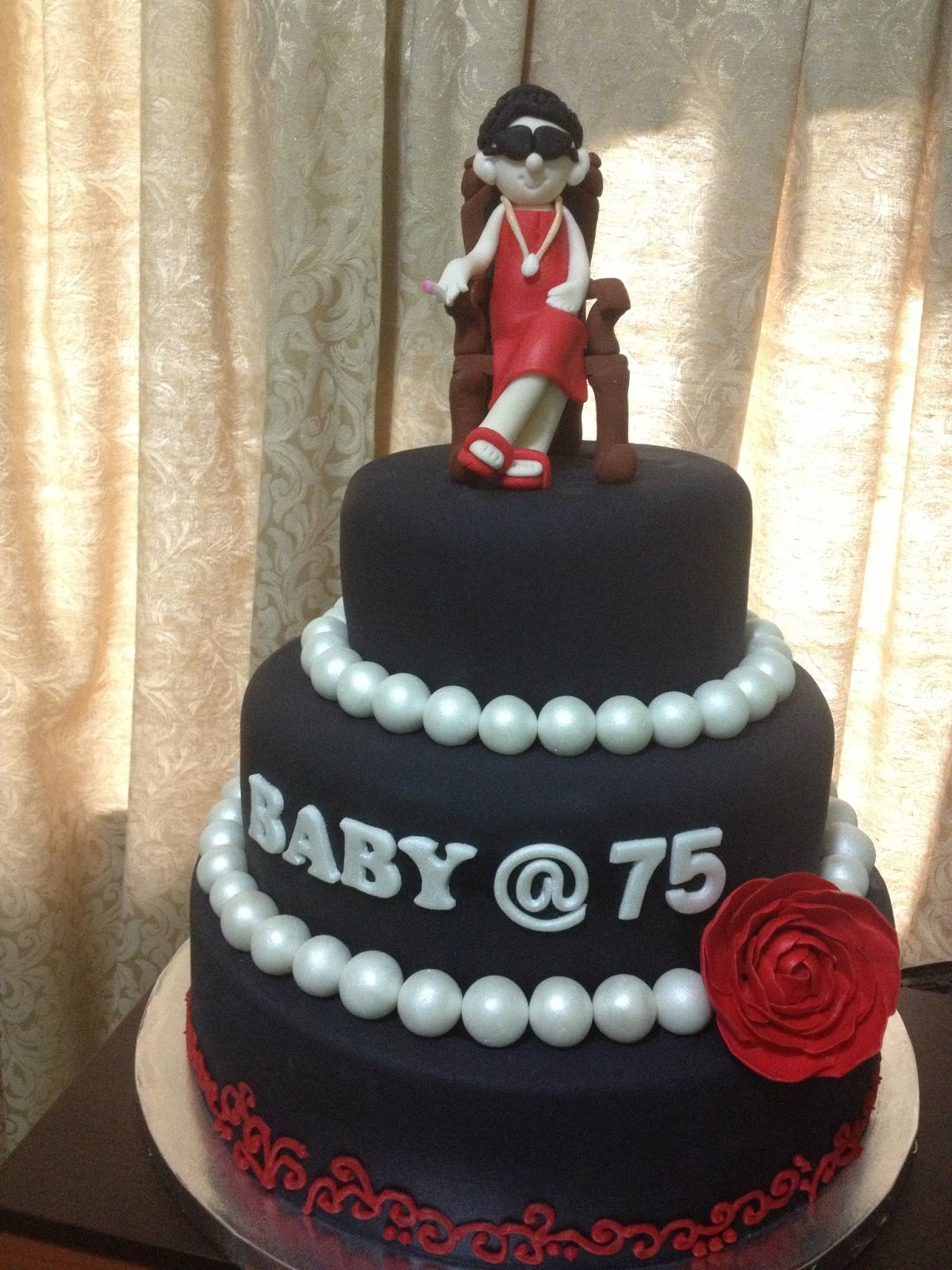 1200 X 1600 In 25 Exclusive Image Of 75Th Birthday Cake