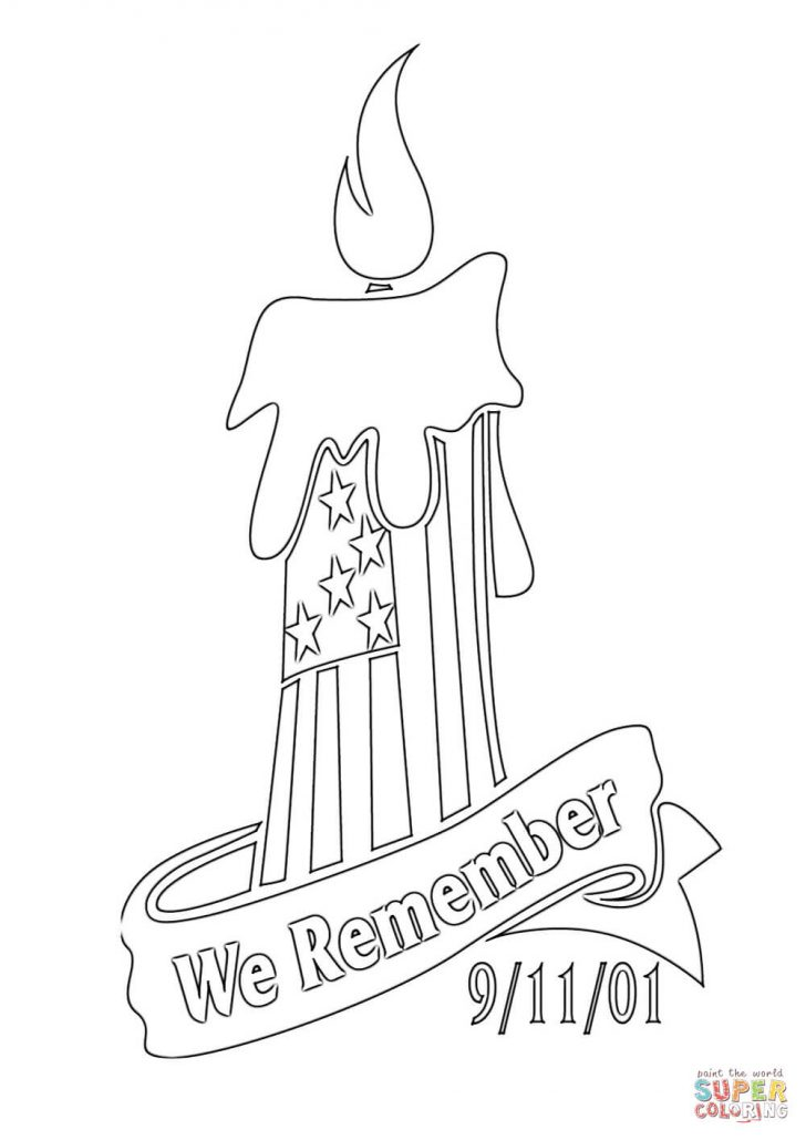 9 11 Coloring Pages We Remember 9 11 01 Coloring Page Free Printable Coloring Pages