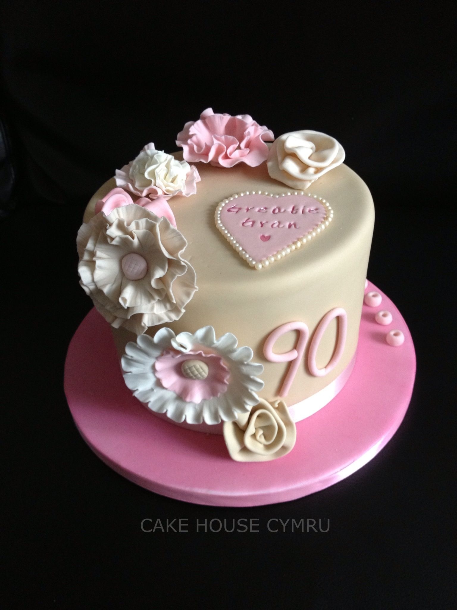 90Th Birthday Cake Ideas 90th Party Pinterest
