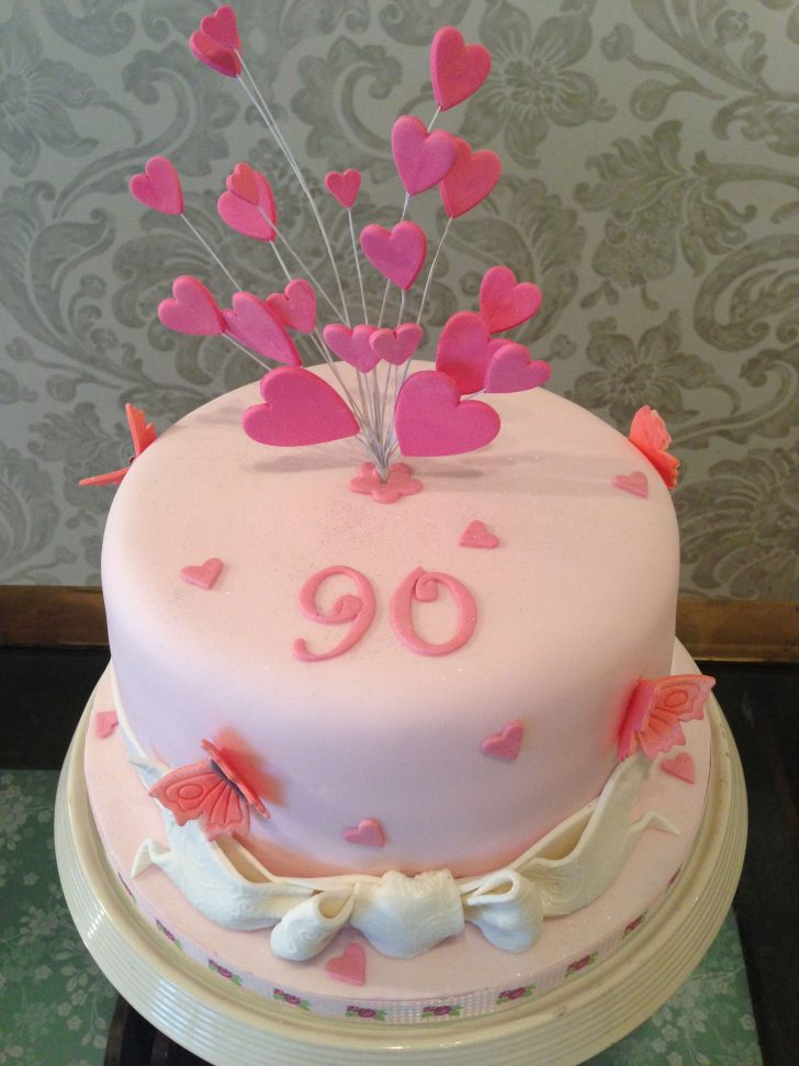 90Th Birthday Cake Ideas 90th Birthday Cake Birthday Party In 2018 Pinterest 90th