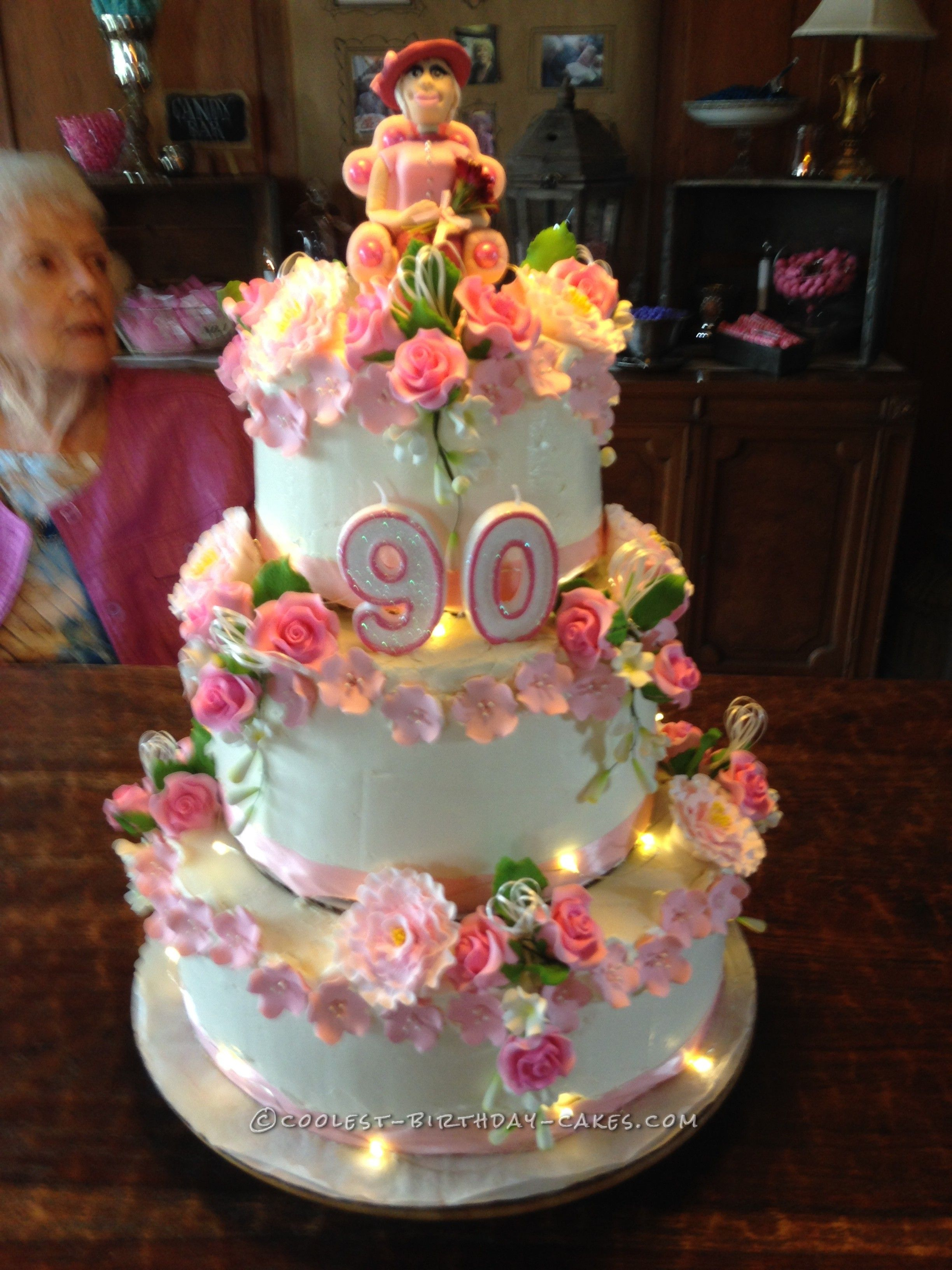 90Th Birthday Cake Ideas 90th Birthday Cake For Mom Mamaws Birthday Pinterest 90th