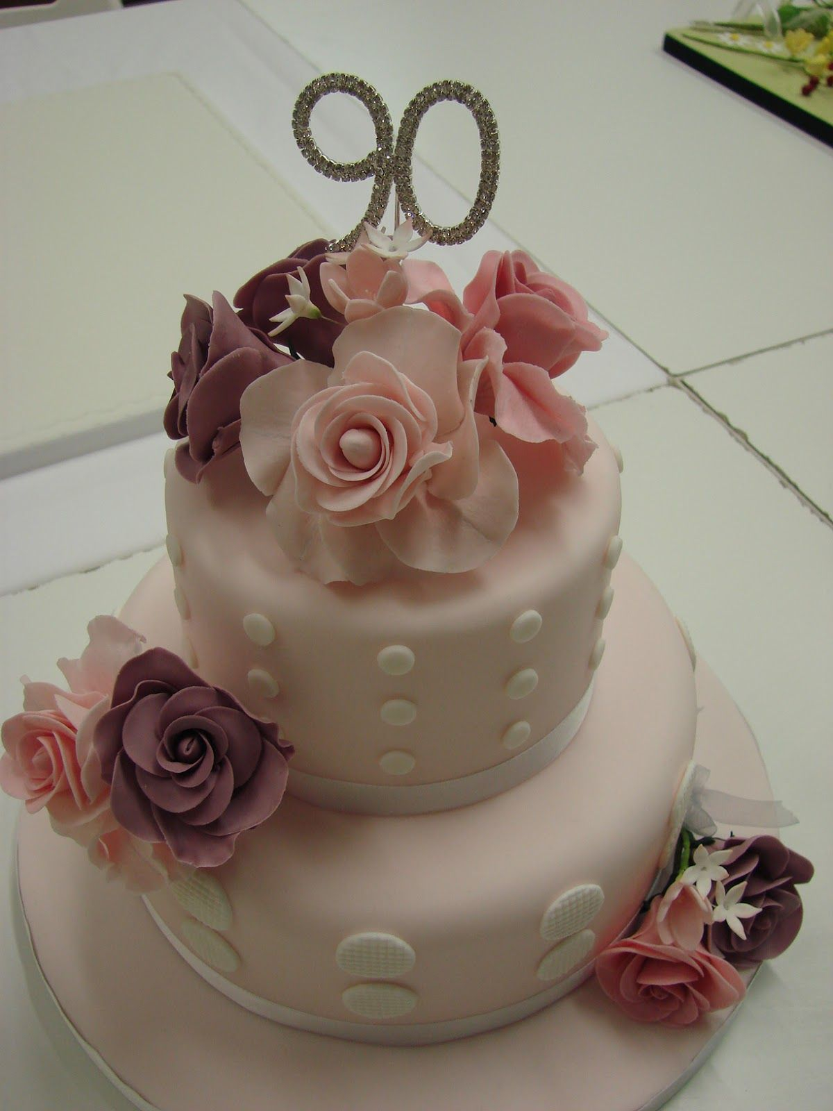 90Th Birthday Cake Ideas 90th Birthday Cakes 90th Birthday Cake Cakeslove A Pretty