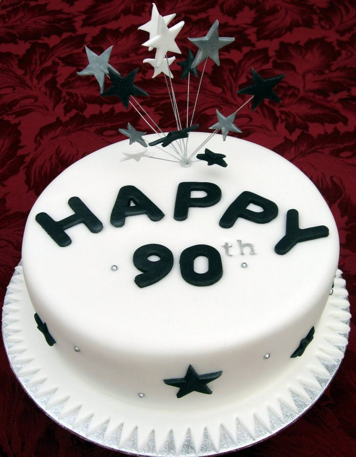 90Th Birthday Cake Ideas 90th Birthday Cakes Cakes Specialty Anniversary Cakes And