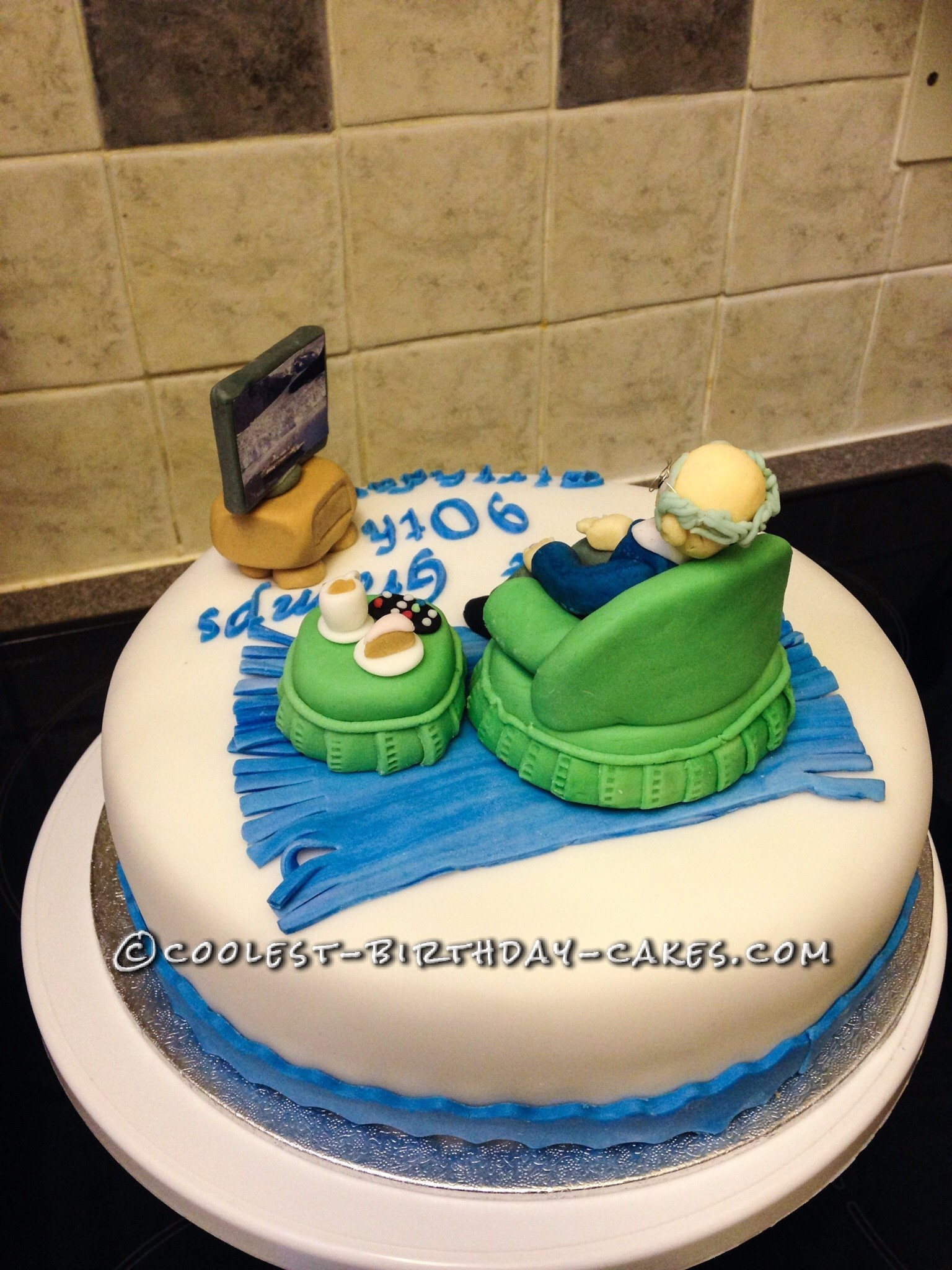 90Th Birthday Cake Ideas Awesome 90th Birthday Cake