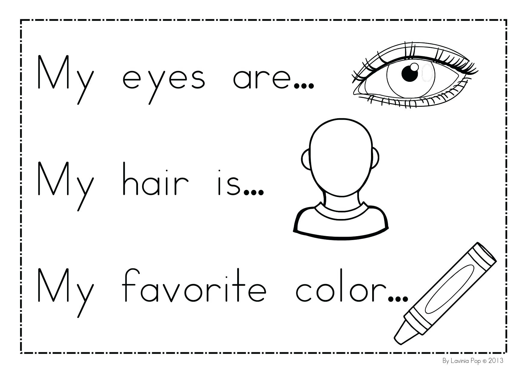 All About Me Coloring Pages All About Me Coloring Pages Flowers Free Printable Theorangechefco