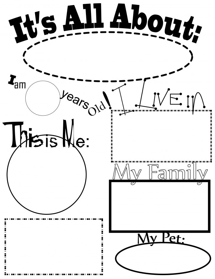 All About Me Coloring Pages All About Me Coloring Pages For Preschoolers Unique Collection Of