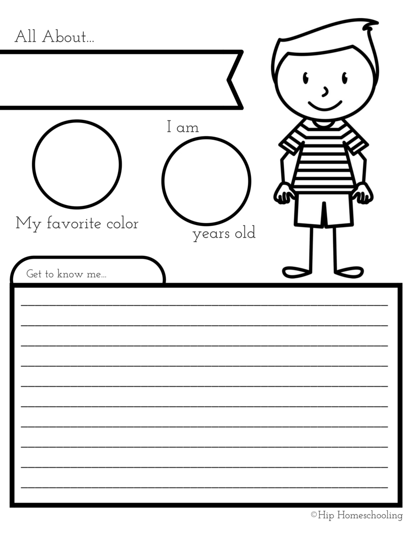 All About Me Coloring Pages All About Me Coloring Pages Worksheets With All About Me Worksheet A