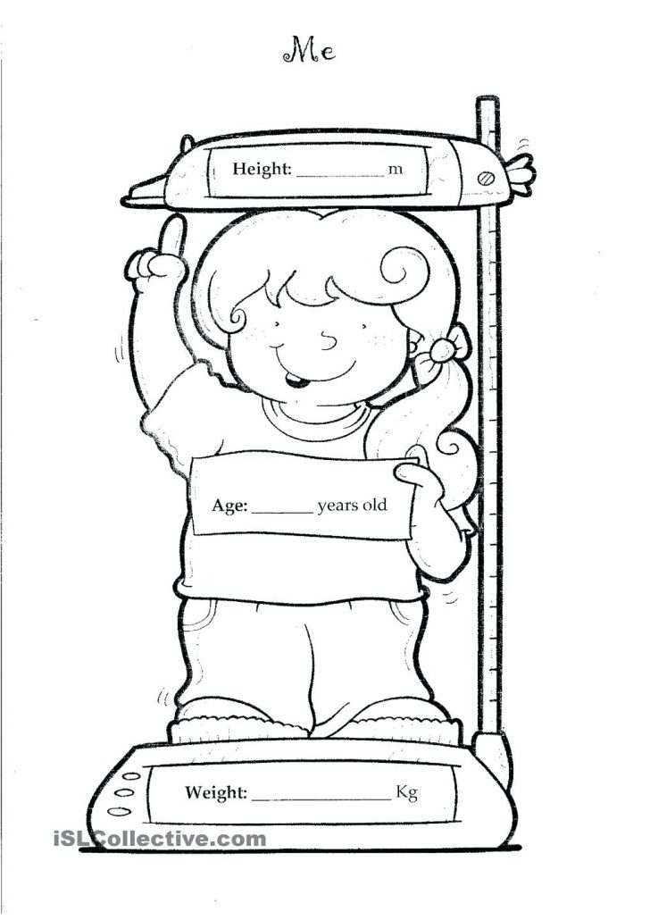 All About Me Coloring Pages All About Me Sheets For Students All About Me Coloring Pages All