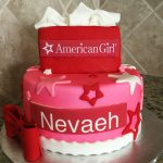 American Girl Birthday Cake American Girl Cake No White Border Name Plate Or Giant Bow
