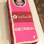 American Girl Birthday Cake American Girl Doll Cake Manga Art And Other Things Pinte