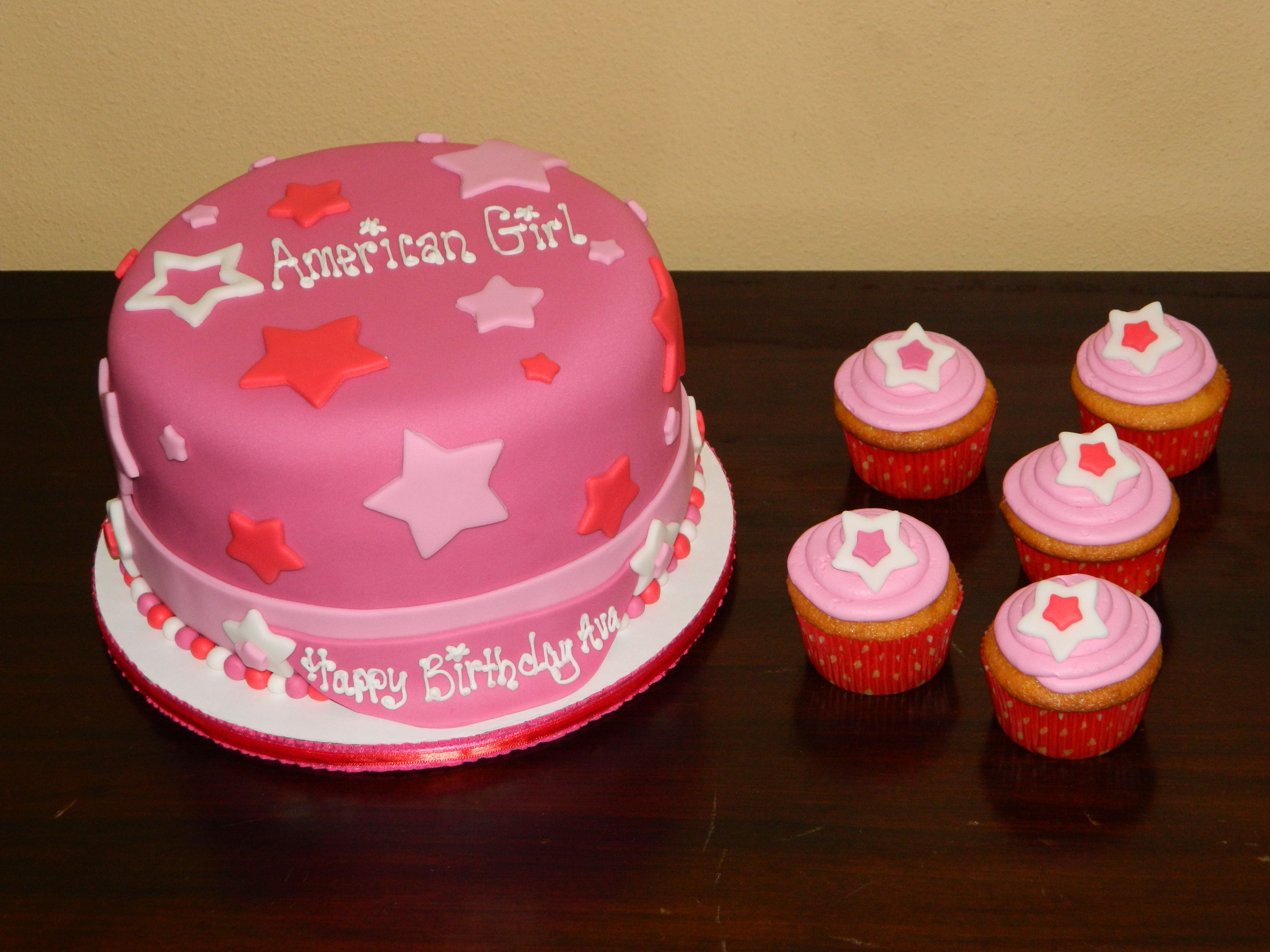 35+ Exclusive Picture of American Girl Birthday Cake