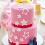 American Girl Birthday Cake How To Decorate An American Girl Cake Goodie Godmother A Recipe