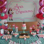 American Girl Birthday Cake Partylicious Events Pr American Girl Cupcake Party