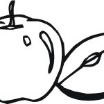 Apple Coloring Pages Apple Coloring Page With Coloring Pages For Children